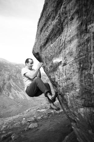 Dave MacCleod Bouldering