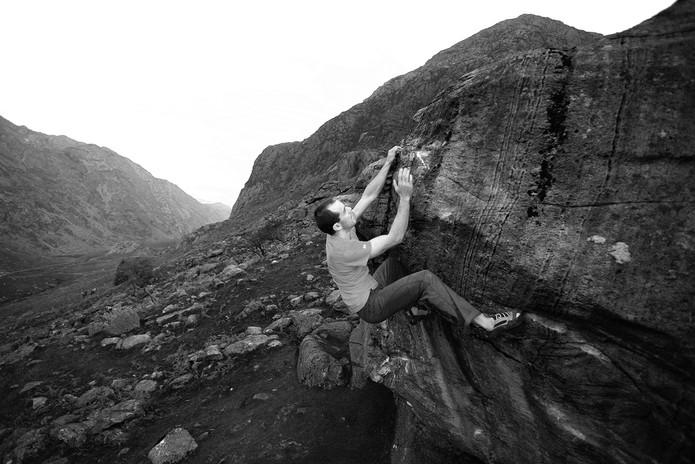 Dave MacCleod Llanberis Pass