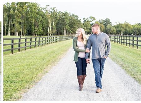 Samantha & Tyler | Alturia Farm Engagement