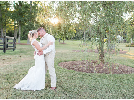 Samantha & Tyler | Alturia Farm Wedding