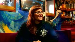 Eliza on the Sea Shepherd