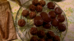 Scrumptious choclate balls