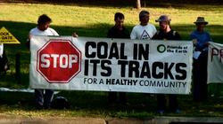 CSG protest Brisbane