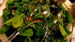 Zesty, refreshing raw salad