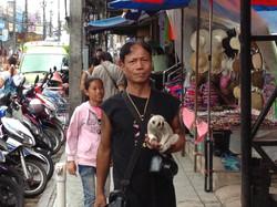 Local Thai peddler