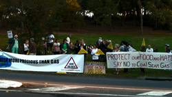 Fossil Fuels protest