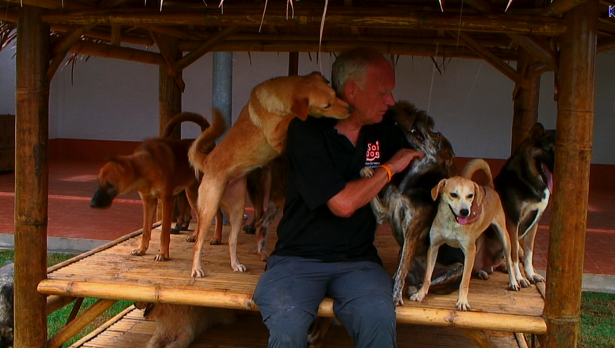 John Dalley at Soi Dogs