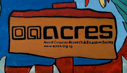 ACRES SIGN