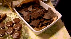 Heavenly cracked buckweat chocolate