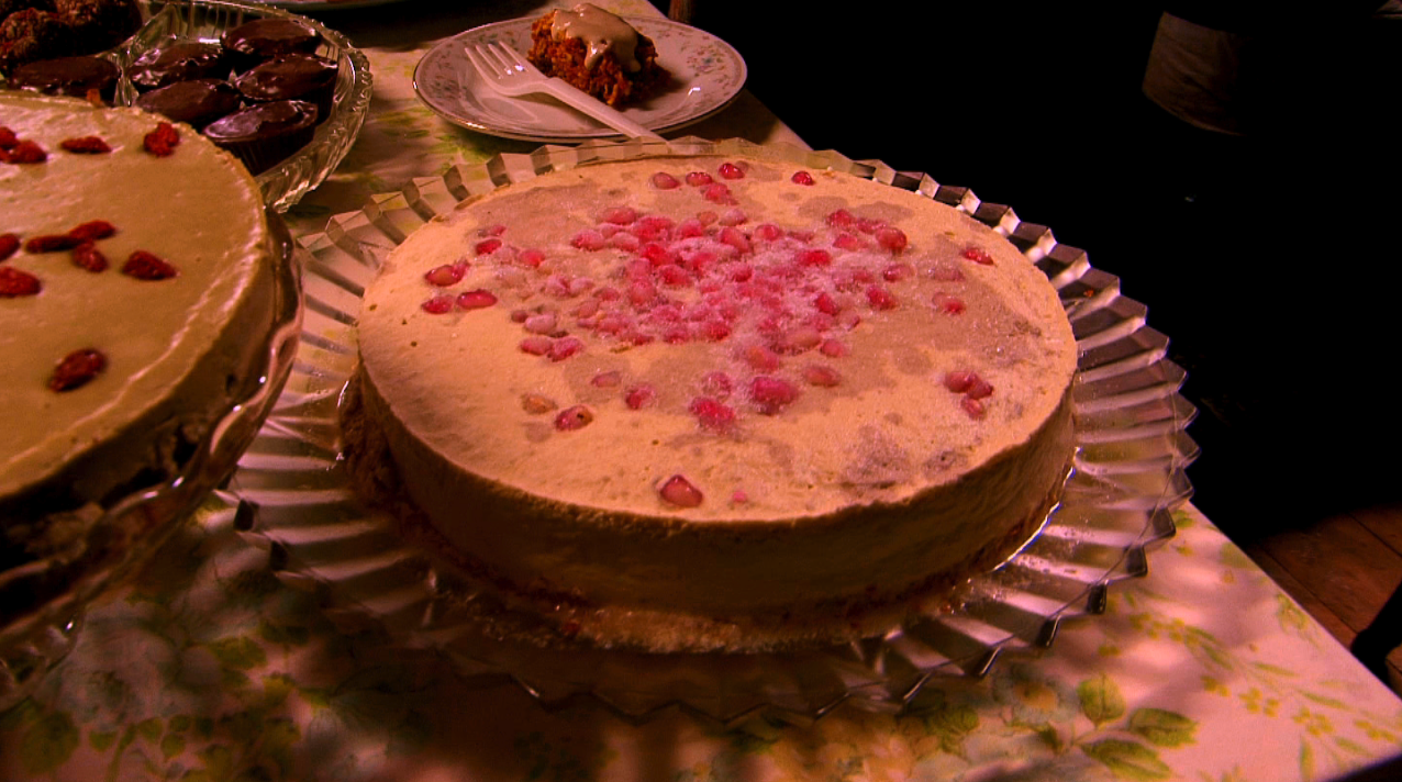 Oh so delicious raw vegan cheesecake