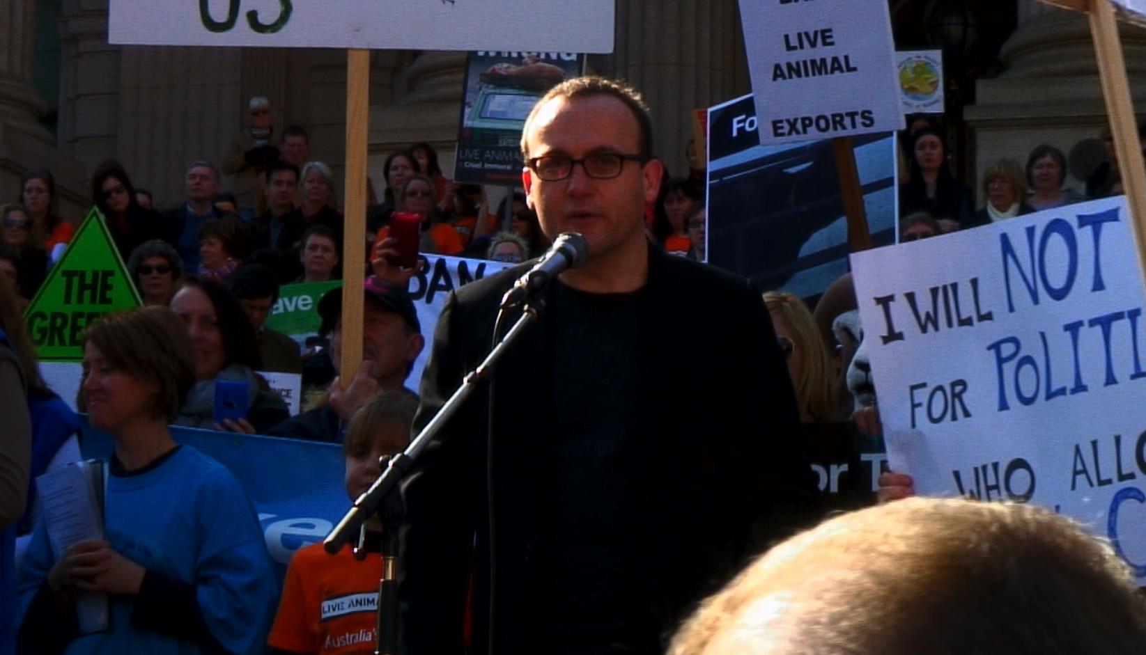Adam Bandt- Fed member of Parliament