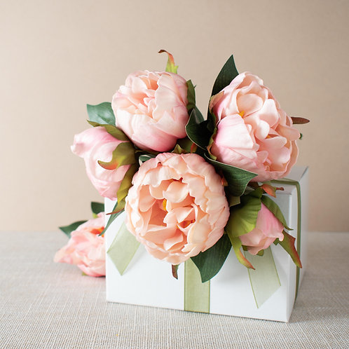 Soft Pink Peony Bouquet