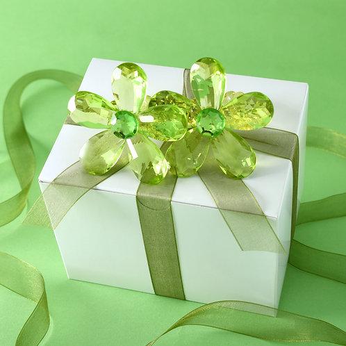 Green Daisy Napkin Holders