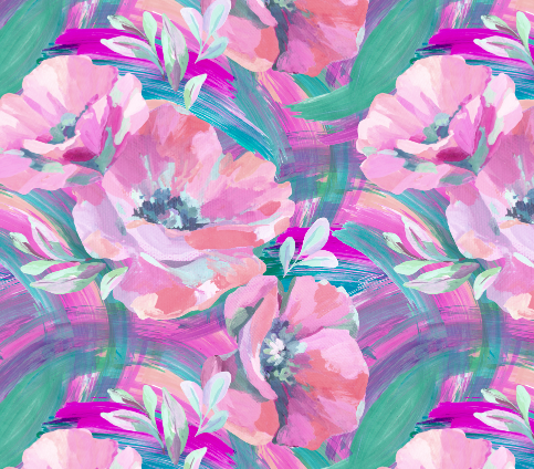 505 paint strokes flowers screen shot