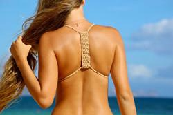 SwTop_HAMOA Couture Basket Weave Bralet Halter Bikini Top_02
