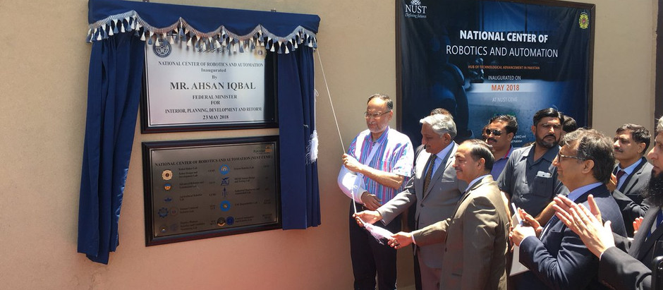 Inauguration of National Center of Robotic and Automation