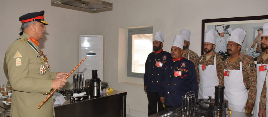Inauguration of Army Cooks Training School