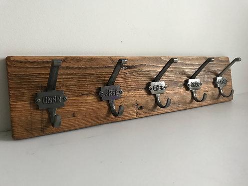 Cast Iron GNER Coat Rack