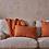 Thumbnail: Kadin Cushion Cover - Burnt Amber (Square due End May)