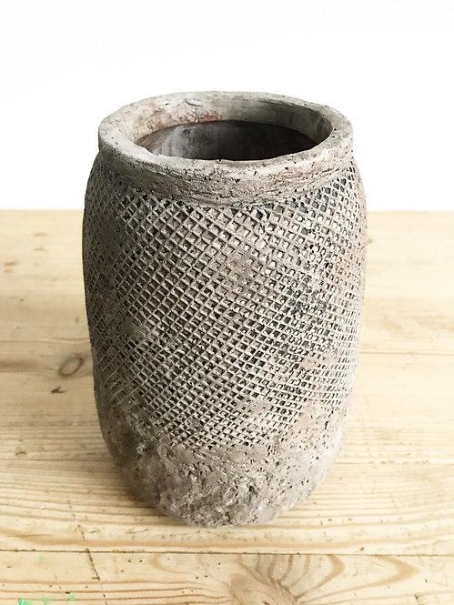 Danish Hanoi Net Concrete Vase