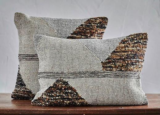 Woven Triangle Cushion