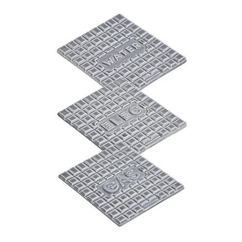 StolenForm Manhole Coasters (set of 3)