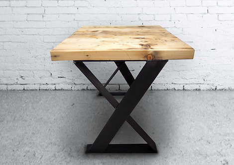 Industrial X-Leg coffee table