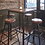 Thumbnail: Cooper Tall Vintage Real Leather & Metal Bar Stool - 32 Inch, by Industville