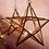 Thumbnail: Antique Brass Glass Star - Due in Dec 17