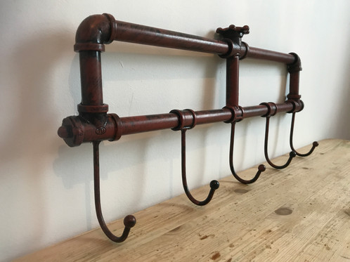Antique Pipe Coat Rack Mesmerizing Pipe Coat Rack