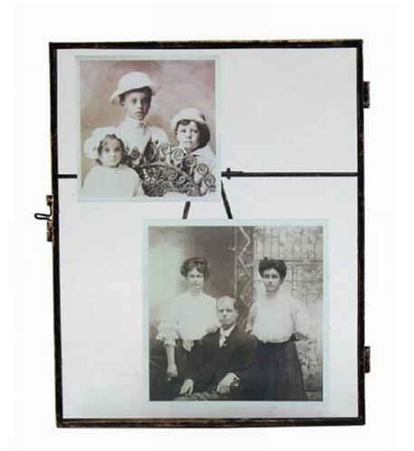 Large Vintage Metal Photo Frame (8 x 10in)