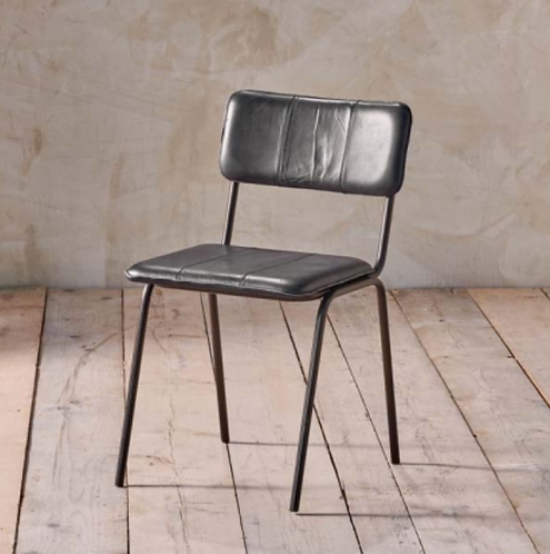 *Due end May* Ukari Dining Chair - Aged Black