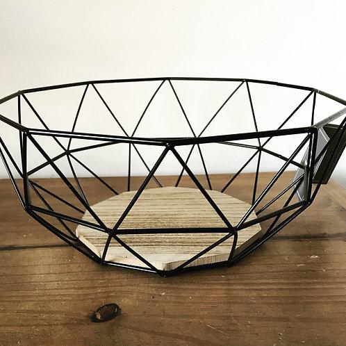 Geometric Wire Bowl