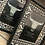 Thumbnail: Pair of Small Modern Aztec Block Fames (4x6in)