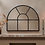Thumbnail: Iron Overmantle Arch Mirror