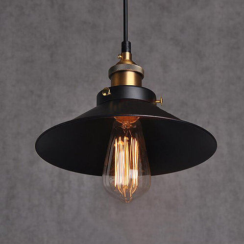 Black and Bronze Ceiling Pendant