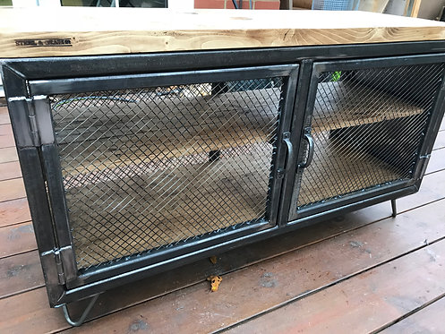 Steel and Grain Co Industrial TV Cabinet