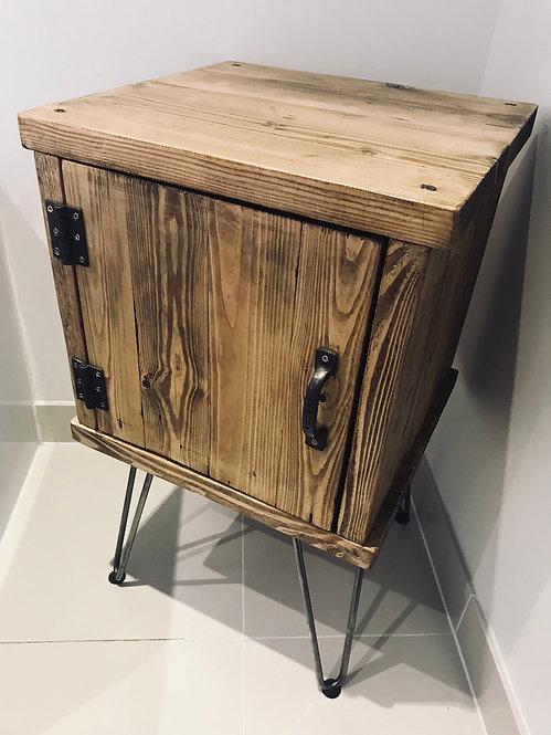 Industrial Style Bedside/Bathroom/Living Room Cabinet