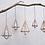 Thumbnail: Mokomo Hanging Lantern - Brass