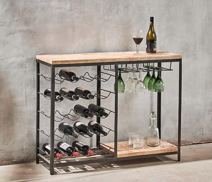 Obra Bar with Wine Glass Storage