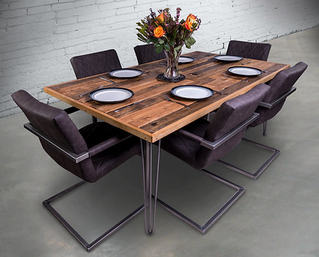 Re-Claimed Palletwood Dining Table - £400 - £530 size depending