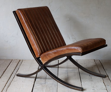 *Contact us for updates* Narwana Ribbed Leather Lounger