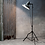Thumbnail: Distressed Floor Standing Film Light