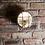 Thumbnail: Bulkhead Round Wall Light/Flush Mount - 8 Inch - Gunmetal, by Industville