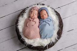 Newborn Photography Baby Twins Max & Mya Milton Keynes baby twins photo shoot