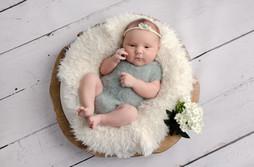 Newborn Photography Baby Jasmine Aylesbury baby photo shoot