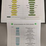 HalfDay & FullDay Kindergarten Schedules