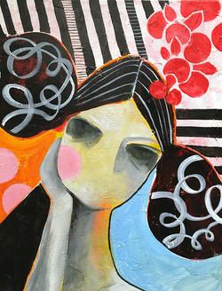 Kicki_painting_stripes