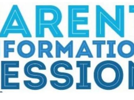 Parents'/Carers' Information Evening