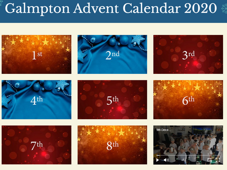 Galmpton Advent calendar